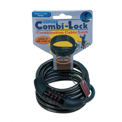Câble Combi6 Combination Lock Oxford