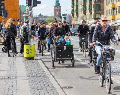 Copenhague, exemple à suivre pour le vélo