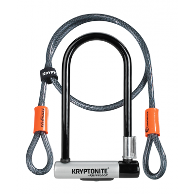 Combiné New-U KryptoLok Standard w/ Flex Kryptonite