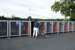 Parking vélo sécurisé à Nantes