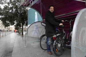 Box à vélo à Rouen