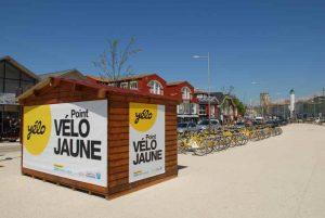 Une station yélo à La Rochelle