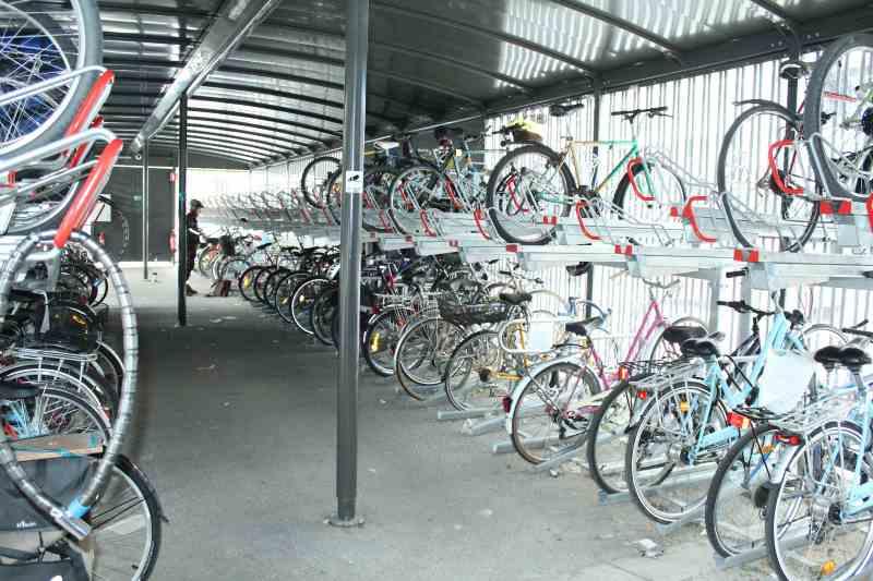 Garer son vélo à chambéry dans une consigne collective