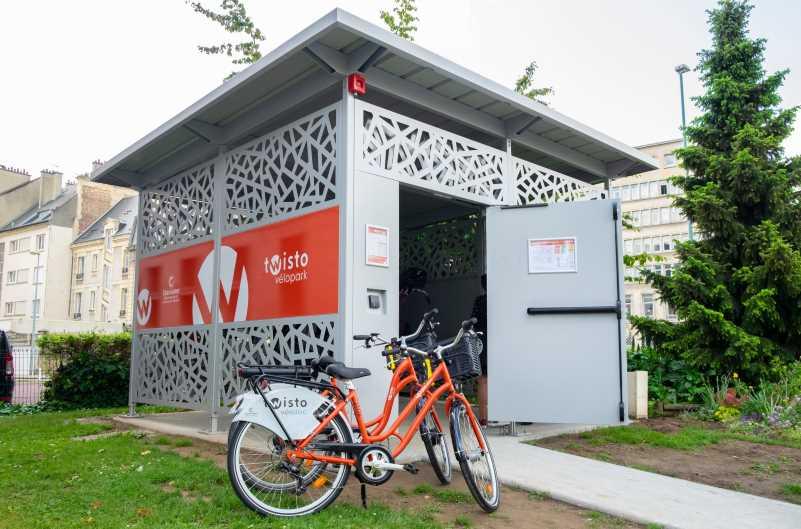 Les Véloparks de Twisto offrent des stationnements sécurisés pour son vélo à Caen