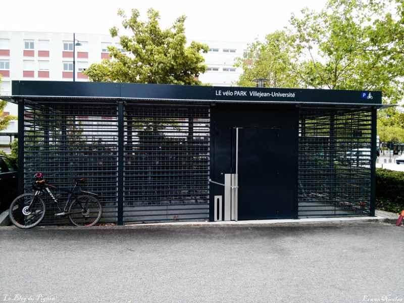 Le Vélo Park, un abri pour vélo sécurisé