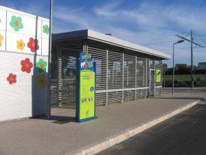 Stationner son vélo à Montpellier de manière sécurisée dans un Véloparc TaM