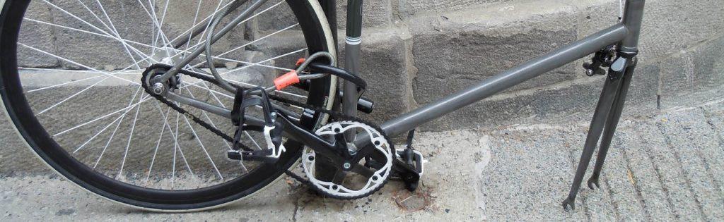 ANTIVOL VÉLO pour AXESde ROUE DE VÉLO AVANT /& ARRIÈRE Touche pas a Mon Vélo