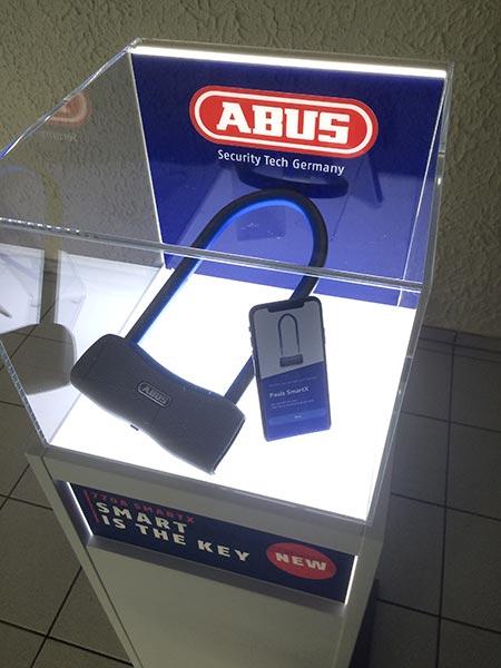 Le nouveau cadenas connecté d'Abus