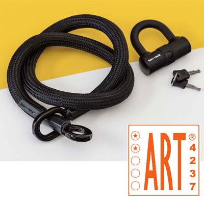 Antivol Tex-Lock Eyelet M, 120 cm