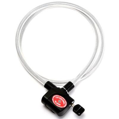 Câble antivol avec alarme 110db
